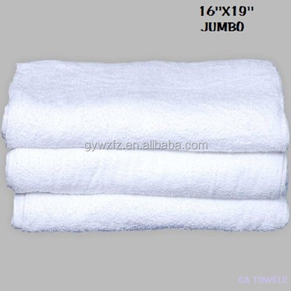 Durable Terry Cloth Jumbo Cotton Cleaning Towels