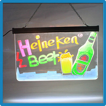 New idea advertising of restaurant led sign board for advertising