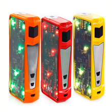 Colourful design e cigar of Sigelei Kaos Z 200W Box Mod with changeable LED light