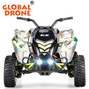 Hot Sale Global Drone WlToys 12428-A 1:12 2.4G 4WD 50km/h Electric Brushed Off-road Motorcycle Model High Speed Rc car Car Gift