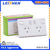 factory supply SAA Australia usb power outlet standard usb wall socket