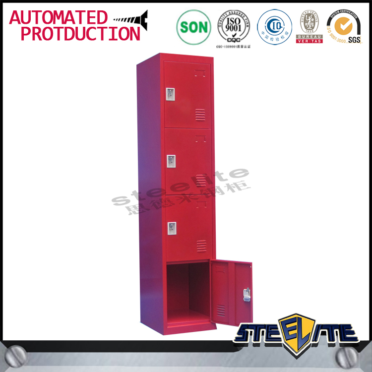Alibaba express 4 door steel luggage locker fireproof locker cabinet with adjustable shelves