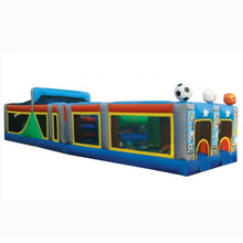 most popular sports All Star inflatable obstacle course challenge for kids and adults