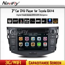 High quality for Toyota RAV4 2din Car dashboard with Wince MTK DVD GPS Radio RDS Bluetooth A2DP Car radio system
