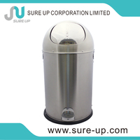 Decorations 42l advertising waste bin hygiene waste bin hot sale for iran hotel room waste bins(DSUQ)