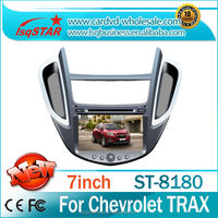 NEW!!!7''Double din Car Dvd for Chevrolet TRAX with Android 4.2 Capactive screen,GPS, BT,ridio, fuction