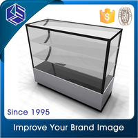Good quality shop design wooden jewelry store display counter