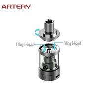Artery 2016 e-cigarette clearomizer stainless steel tank vaporizers wholesale temperature control box mod ecig from shenzhen