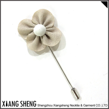 Alibaba Suppliers Fabric Lapel Pin Flower Men