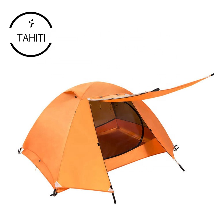 Outdoor Portable 4 Person Waterproof UV Protection Tourist Winter Travel Hiking Tents