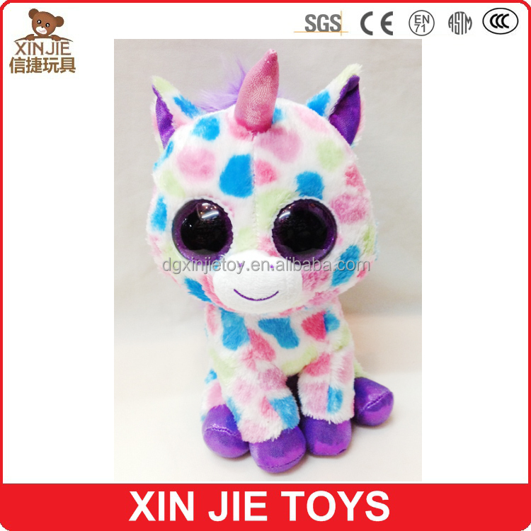 nice design plush unicorn toy kids unicorn stuffed toy big eyes cute soft unicorn toy