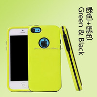 2014 Newest phone cover PC TPU custom design cell phone case for iphone 5 5s 5c