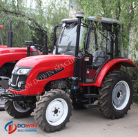 55HP 4 wd used mitsubishi tractor for farmer