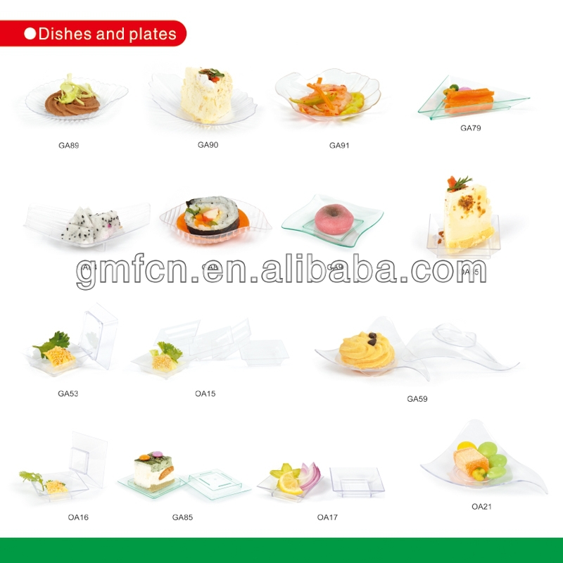 hot sale and most popular factory produce transparent good grade plastic dishes
