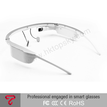 Wireless camera glasses wifi monocular Android smart video glasses bf downloads