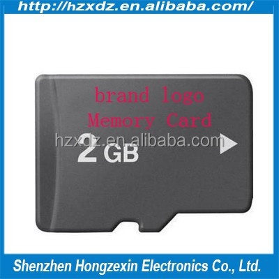 Made in taiwan mobile sd 2GB TF memory SD card full capacity mobile phone memory