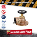 Flange type brass Angle landing valve with fire fire fighting function