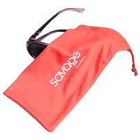 One Color Screen Printing Soft Microfibre Eye Glasses Pouch