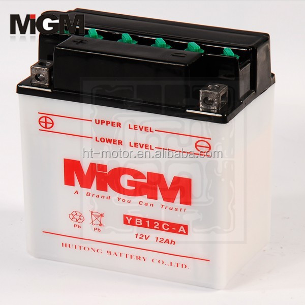 YB12C-A Motorcycle Battery,advanced lead acid batteries
