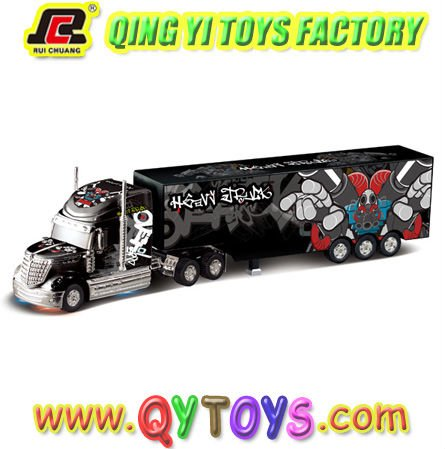 1:32 rc heavy container truck model car