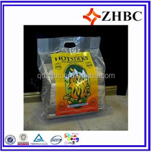 plastic bag for wood pellets /firewood