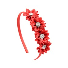 BQ119 2017 new style high quality lovely flower crown hair band