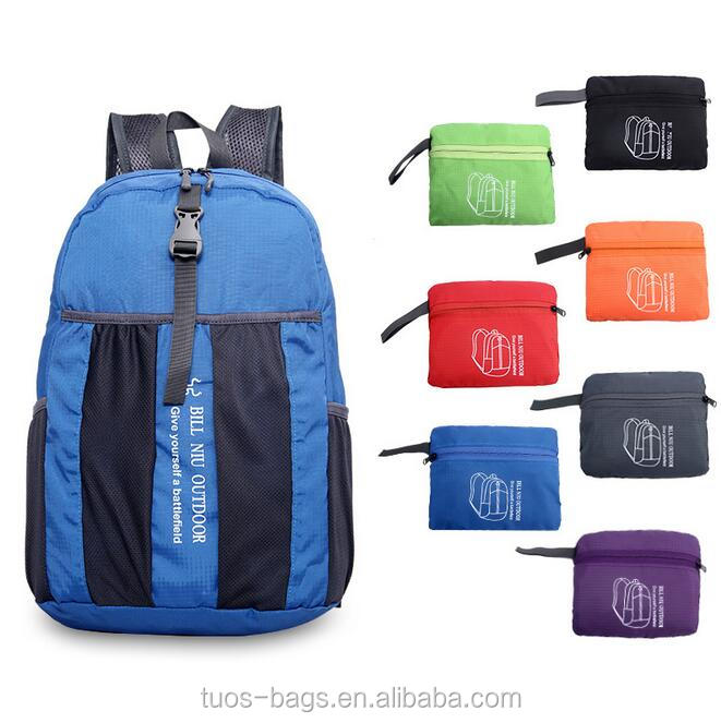 2016 foldable package outdoor camping & hiking & climding foldable <strong>backpack</strong>