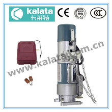 Kalata 600kg Roller shutter motor aluminum door closer electric motor with remote controller