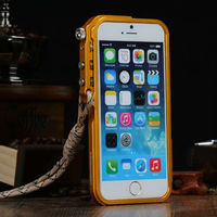 Gift Bumper Case for iPhone 6,Luxury Strong Real Metal Aluminum Bumper Case for iPhone 6