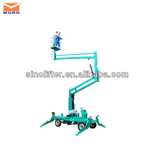 compact boom lift/equipment aerial work