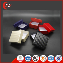 Wholesale black flat pack high quality gift box
