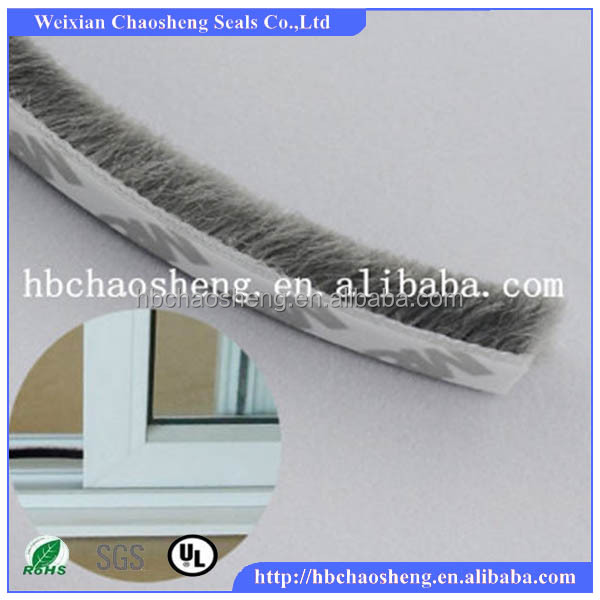 weather strip/wool pile/brush seal strip for windows and doors