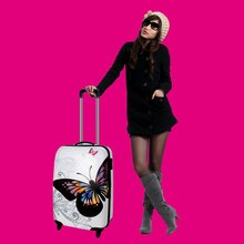 Fashion lady trolley case