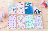 Ultrathin Color printing TPU skin cover Cotten Print cell phone case for iPhone 6 plus