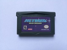 Best Seller for Nintendo GBA Game Metroid Zero Mission Video Game Cartridge Console Card US English Language