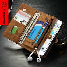 Leather Phone Case Wallet For Iphone 6, Leater Wallet Phone Case
