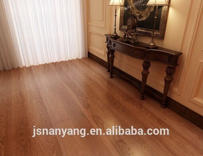 Plywood Multilayer Oak Wooden Floors factory price