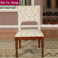 American classic desk chair with chenille fabric finish for the study room furniture AB-212