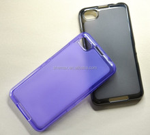 Plastic Material Compatible Brand Hard Case for Blackberry Z30 Case with Jelly TPU Material