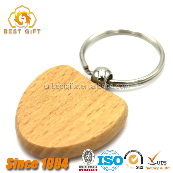 Wholesale Blank Wooden Key Chains