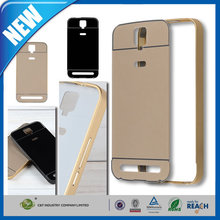 C&T Aluminum Alloy Protective Metal Frame Bumper case Acrylic Back Cover Shell For TCL 3N M2M 5.5inch