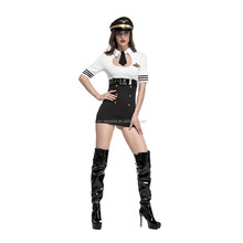 Women sexy halloween party air hostess costumes