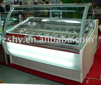 CE Gelato Ice Cream Freezer
