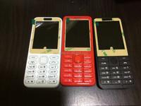OEM logo wholesale mobile phone dual sim memory card camera mobile phone