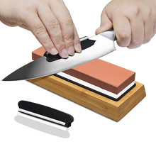 Sharp Pebble Premium มีด Sharpening Stone 2 Side Grit 1000/6000 Waterstone