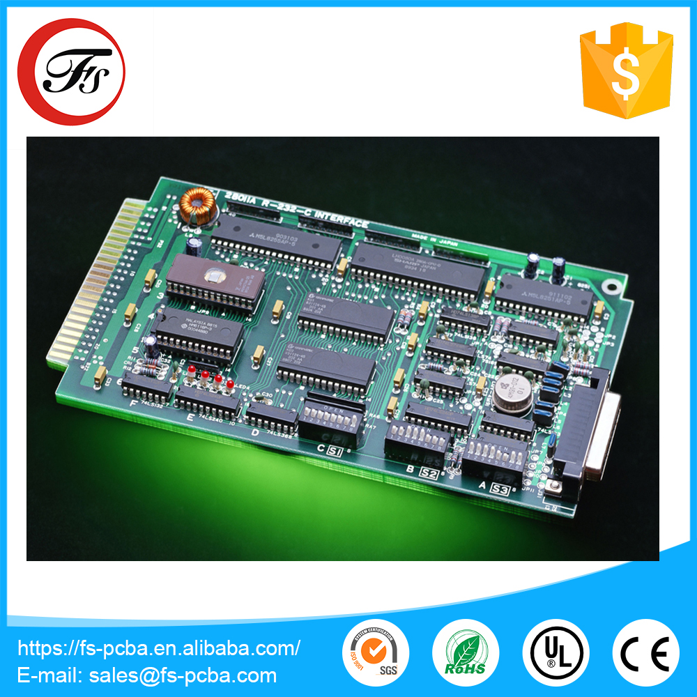 RoHS Precision Fast PCB Fabrication PCB Circuit Board Assembly Manufacturer