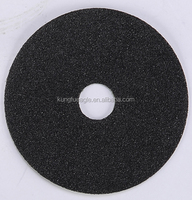 Silicon carbide fibre disc