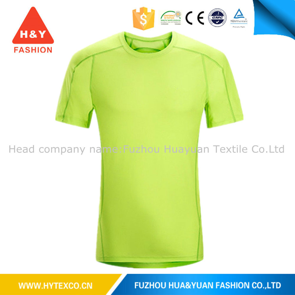 Bulk 100% polyester wholesale blank t-shirts fashion new trend t-shirts