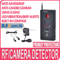 Laser Hidden RF Anti candid Tracker Finder GSM Compass Bug Camera Detector