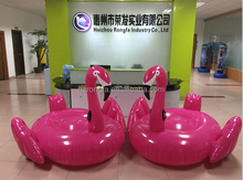 Hot eco-friendly PVC large size inflatable adult swimming pool toy/ inflatable flamingo pool toy